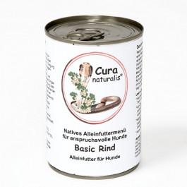 6 x 400 g Cura Menü Basic Rind
